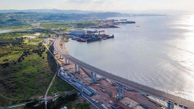 Osmangazi Köprüsünde Lagün Değişikliği