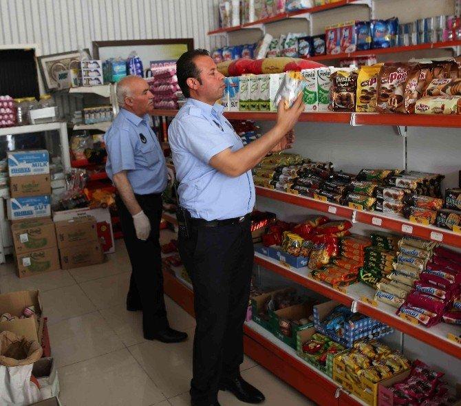 Zabıta Ekiplerinden Gıda Satışı Yapan İşyerlerine Denetim