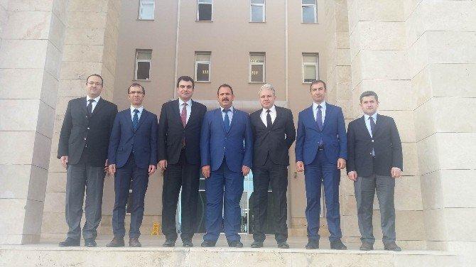 Adalet Bakanlığı Müsteşar Yardımcısı Heybet Sivas'ta İncelemelerde Bulundu
