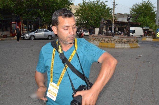 Maçta Gazetecilere Biber Gazlı Ve Joplu Müdahale