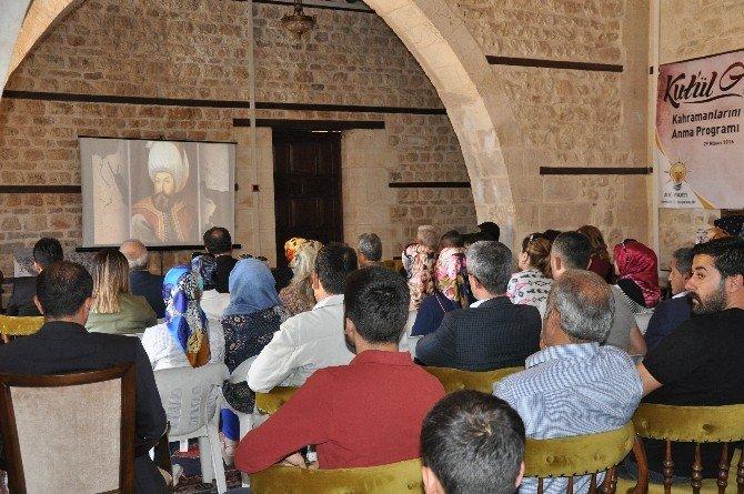 Kut'ül Amare Kahramanlarını Anma Programı Düzenlendi