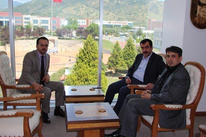 AK Parti'li Erdem'den ADÜ'ye Ziyaret