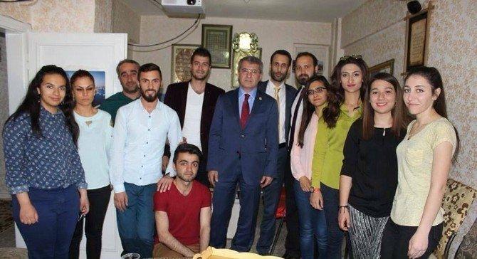 Milletvekili Serdar'dan, Elazığ Kültür Ve Sanat Derneğine Ziyaret