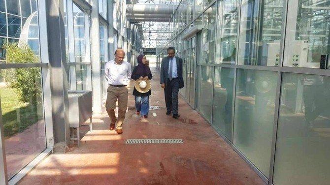 Başkan Oral'dan Abkae'ye Ziyaret