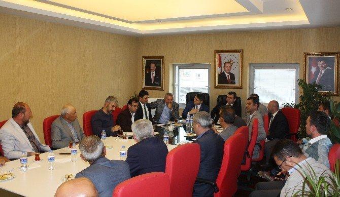Pursaklar'da Muhtarlarla İstişare Toplantısı