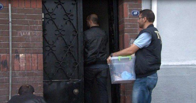 Aydın Ve İzmir'de Terör Operasyonu: 5 Gözaltı