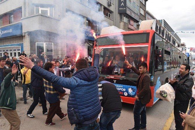 Erzurum'da Her Yer Mavi Beyaz
