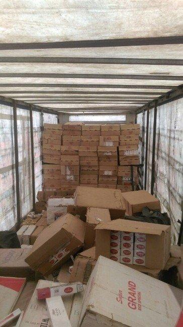 Bitlis'te 276 Bin Paket Kaçak Sigara Ele Geçirildi