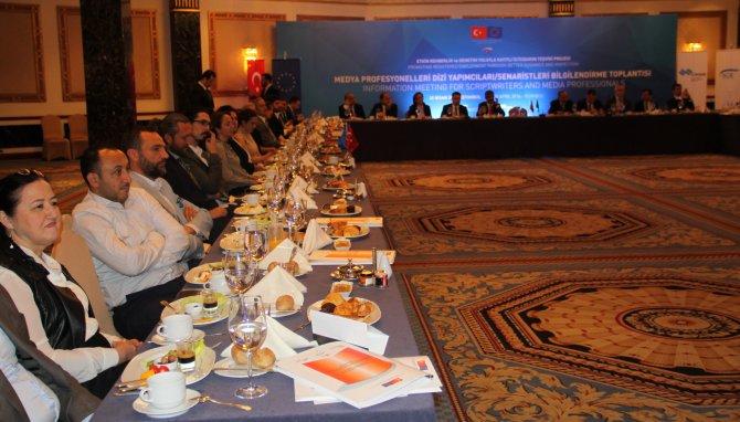 Bakan Soylu, sosyal güvenliğin teşvikinde yapımcılardan destek istedi