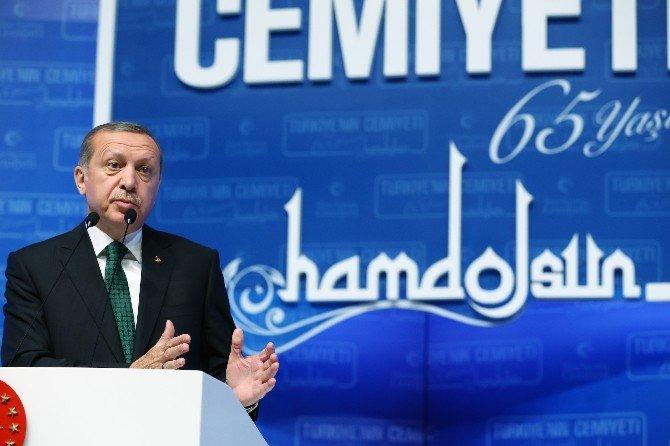 """Cumhurbaşkanı Erdoğan: """"Türkeyi'nin En Parlak Beyinleri, Bu Örgüt Tarafından İğfal Edildi"""""""