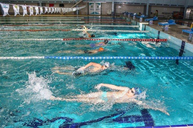 Olimpik Kulaçlar Şehitkamil'de