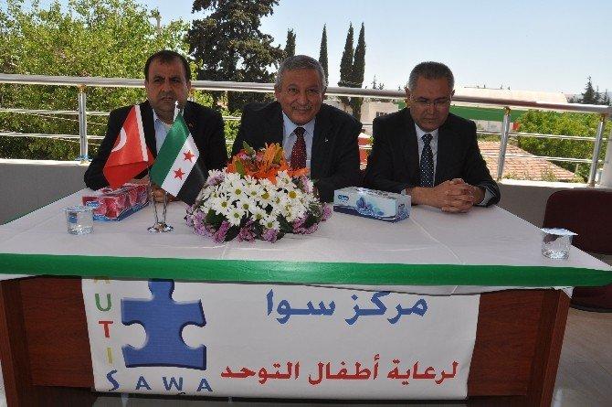 Suriyeli Çocuklara Otizm Merkezi Açıldı