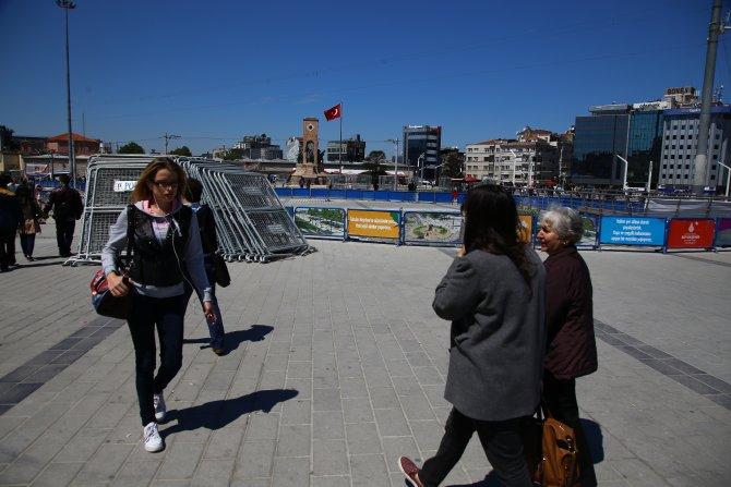 Taksim'de 1 Mayıs önlemi
