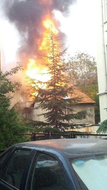 Kütahya'da Korkutan Patlama