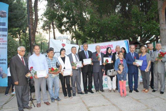 19. Ekmek ödüllü şiir yarışmasında dereceye girenler ödüllerini aldı