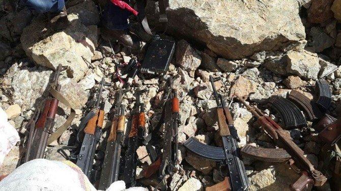 PKK'nın Başkale İlçesindeki Cephaneliği Ele Geçirildi