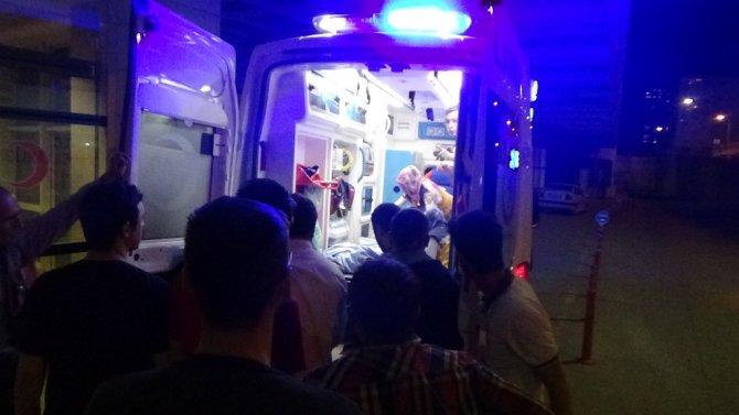 Operasyondan dönen helikopter, yaralı kızı hastaneye yetiştirdi