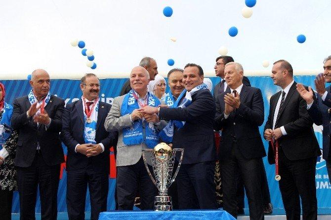 Bb Erzurumspor Şampiyonluk Kupasını Aldı