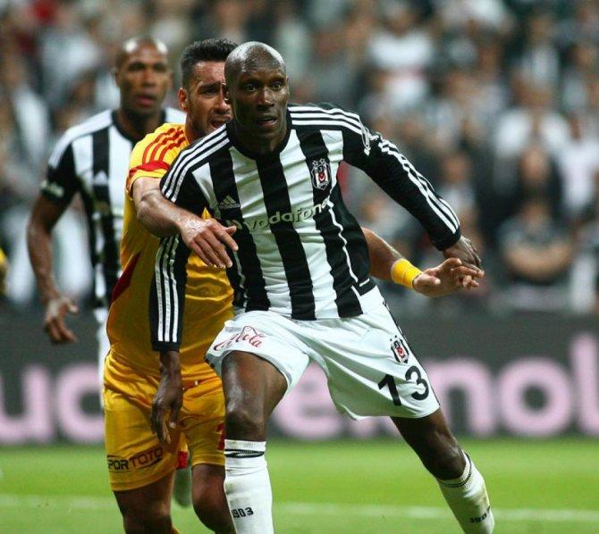 Kayserispor'u da 4-0 yenen Beşiktaş, zirvedeki yerini korudu