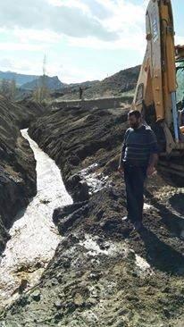 Şenkaya Belediyesinden Mahallelere Su Kanalı Desteği