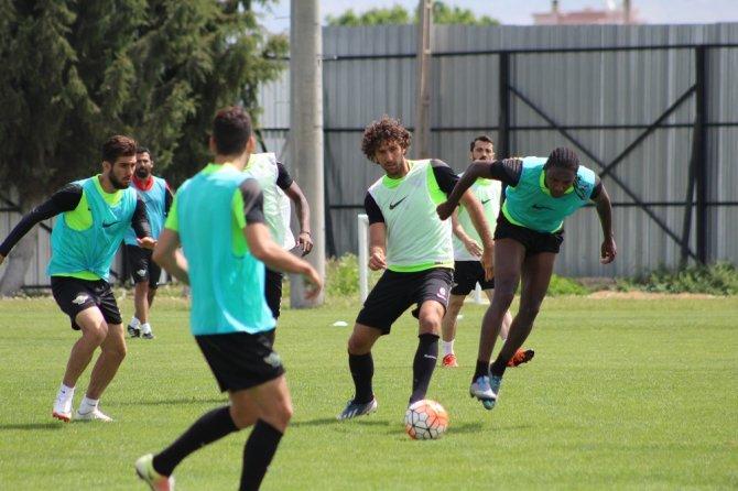 Akhisar Belediyespor, Sivasspor maçının hazırlıklarını tamamladı