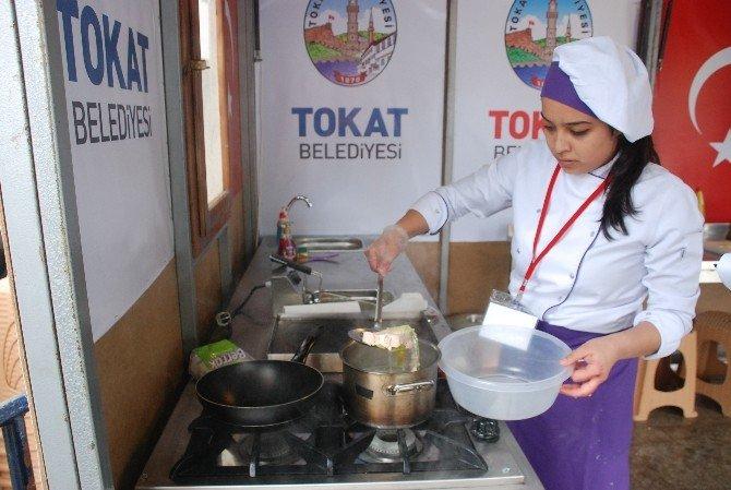Tokat'ta Geleceğin Aşçıları Yarışıyor