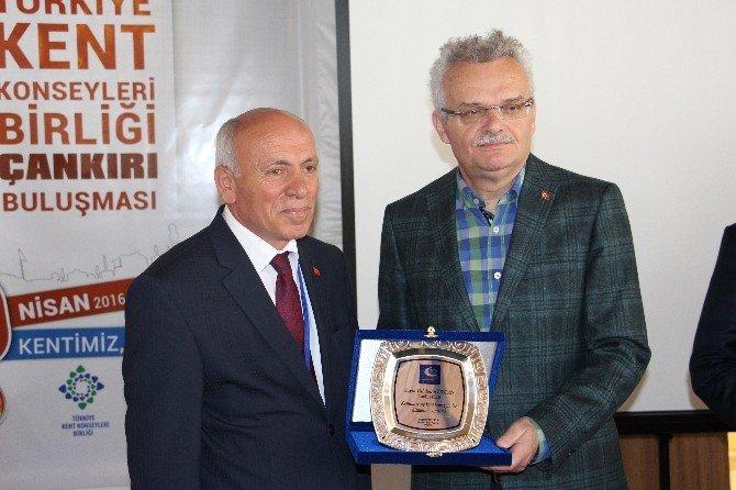 Türkiye Kent Konseyleri Birliği Çankırı'da Toplandı