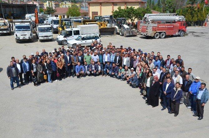 Başkan Bakıcı Personelin İşçi Bayramını Kutladı