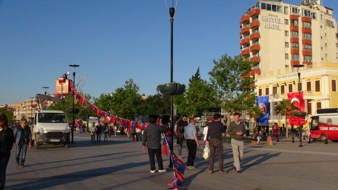 Çanakkale'de 1 Mayıs hazırlıkları tamamlandı