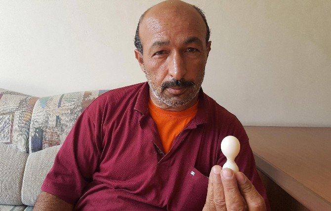 Kum Saati Şeklindeki Yumurtayı Görenler Şaşırıyor