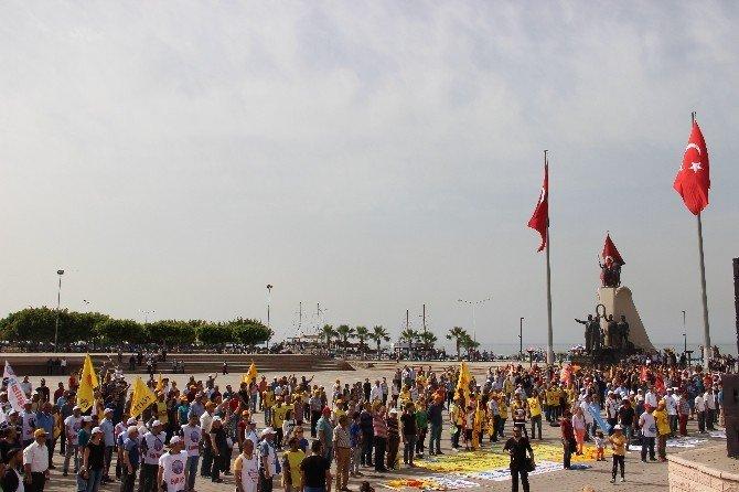 İskenderun'da 1 Mayıs Kutlamaları