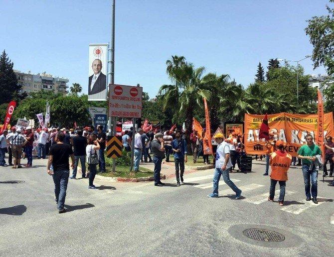 Antalya'da 1 Mayıs Tedbirleri