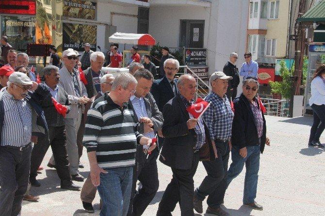 1 Mayıs İşçi Bayramı Bolu'da Kutlandı