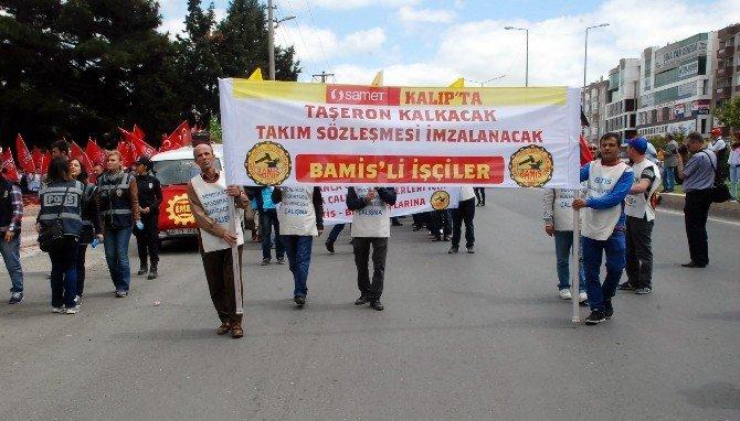 Çorlu'da 1 Mayıs Kutlamaları