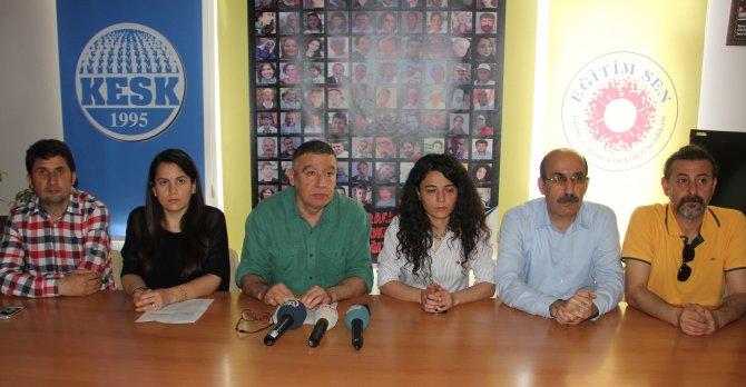 Adana'da 1 Mayıs kutlaması canlı bomba ihbarı üzerine iptal edildi