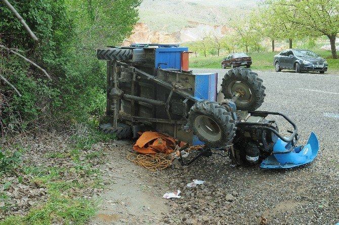Çelikhan'da Çapa Motoru Devrildi: 8 Yaralı