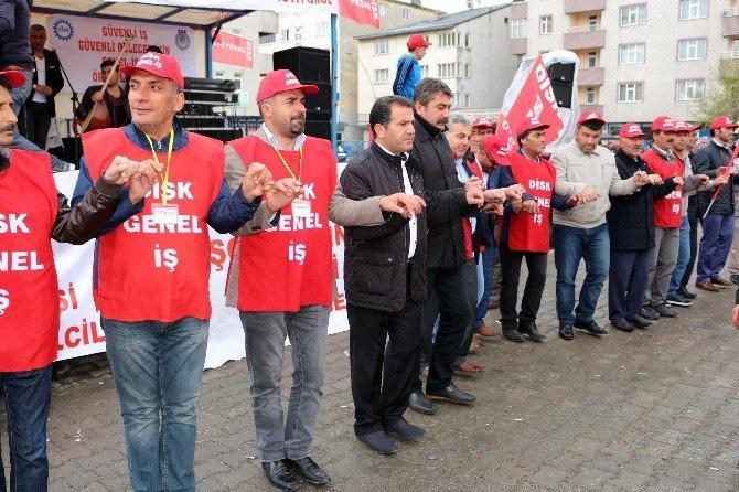 Ağrı'da 1 Mayıs Kutlamaları