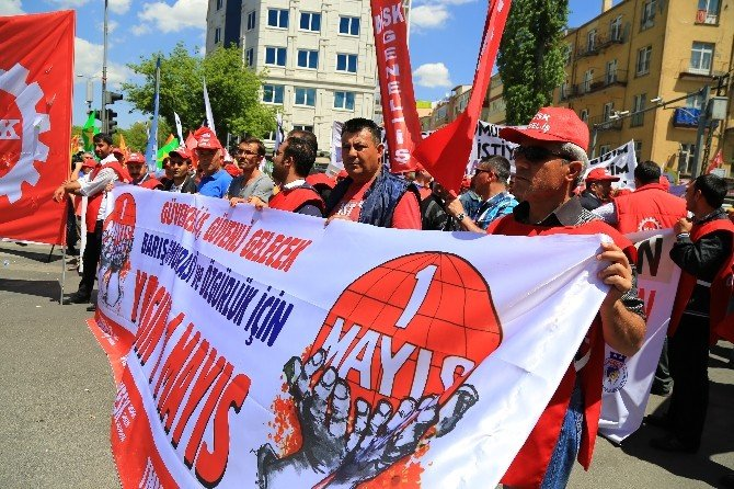 Ankara'da 1 Mayıs Kutlamaları Olaysız Sona Erdi