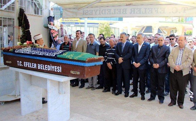 Basın Müdürü Söylevci'nin Annesi Son Yolculuğuna Uğurlandı