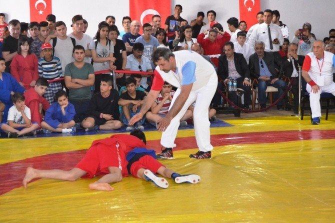 Türkiye Sambo Şampiyonası Kıran Kırana Maçlarla Başladı