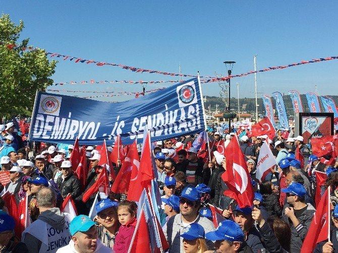 Çanakkale'de 1 Mayıs Kutlamaları Başladı