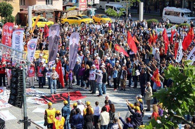 Çanakkale'de 1 Mayıs Kutlamaları
