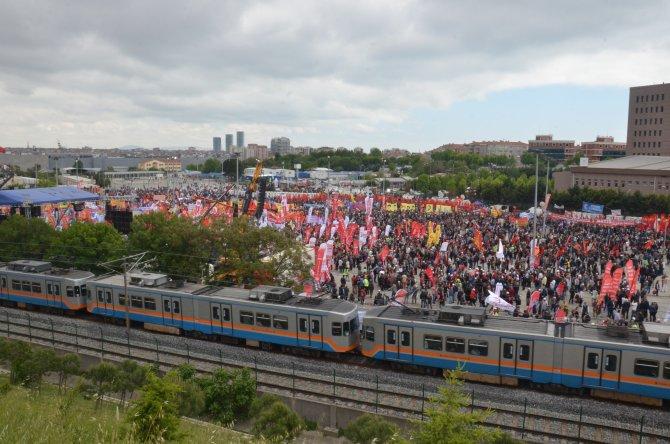 DİSK Başkanı Beko: Taksim 1 Mayıs alanı olana kadar mücadelemiz sürecek