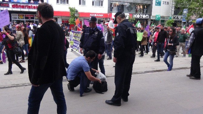 Erzincan'da 1 Mayıs Kutlaması