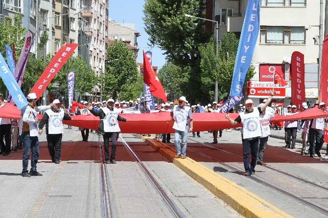 Eskişehir'de 1 Mayıs Kutlaması