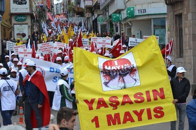 1 Mayıs İşçi Bayramı Giresun'da Kutlandı