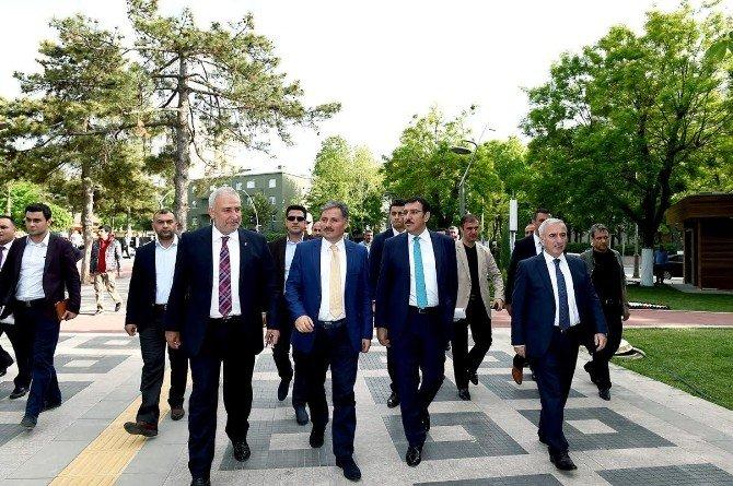 Bakan Tüfenkci, Hürriyet Parkı'nda İnceleme Yaptı