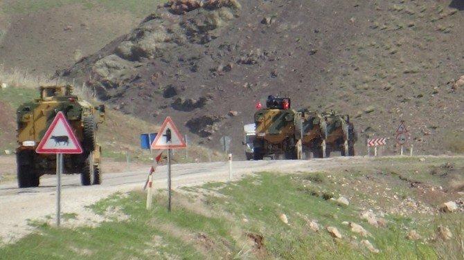 Operasyon Birlikleri Yüksekova'dan Çıkıyor