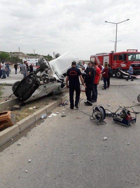 Kahramanmaraş'ta Zincirleme Kaza: Biri Bebek 8 Yaralı