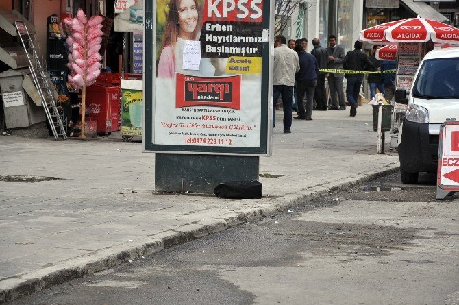 Kars'ta Şüpheli Valiz Paniği